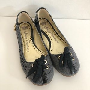 Juicy Couture Flats - Gray